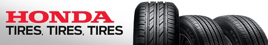 Honda Tires Specials