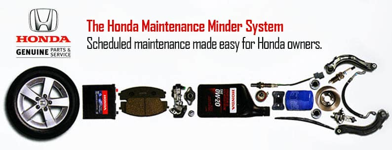 Honda Maintenance Schedule