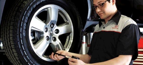 Tire Pressure & Wheel Alignment