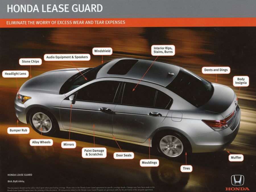 Honda Lease Guard